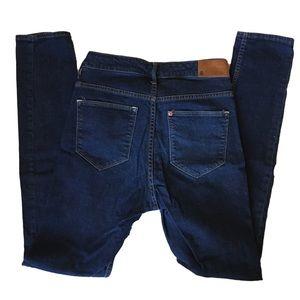 H&M HIGH SQIN high waist straight leg jeans 27x32